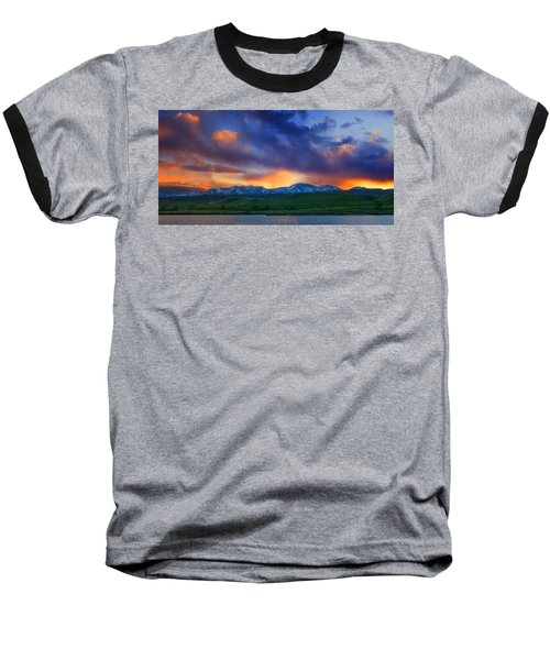 Front Range Light Show Baseball T-Shirt