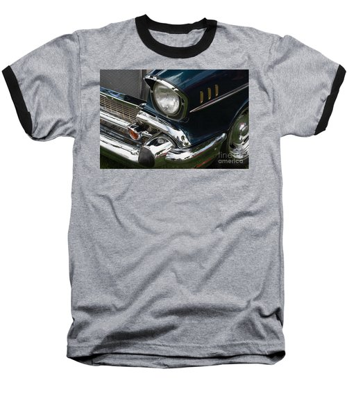 Front Side Of A Classic Car Baseball T-Shirt