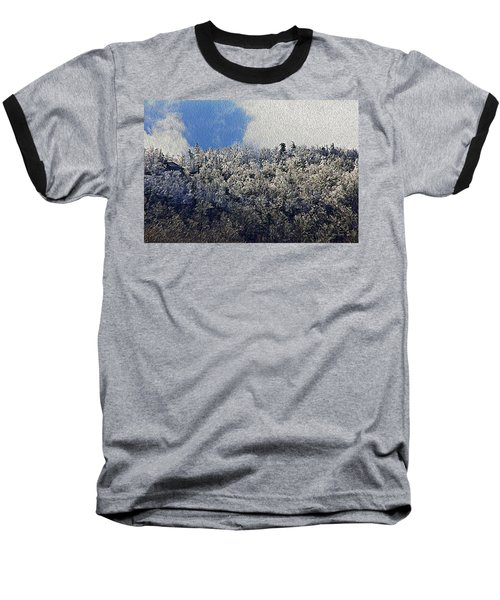 Frost Line 2 Baseball T-Shirt by Tom Culver