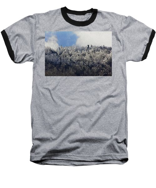 Frost Line Baseball T-Shirt by Tom Culver