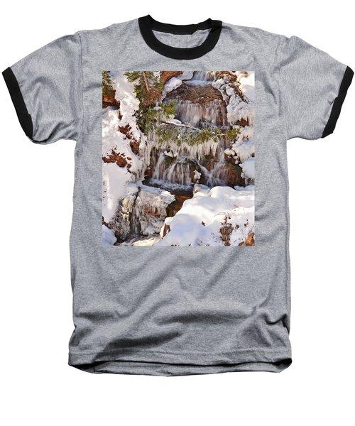 Frosty Cascades Baseball T-Shirt