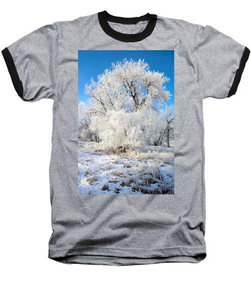 Frosty Morning Baseball T-Shirt