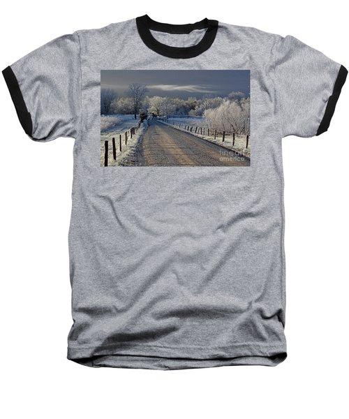Frosty Sparks Lane Baseball T-Shirt