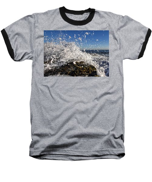 Froth And Bubble Baseball T-Shirt