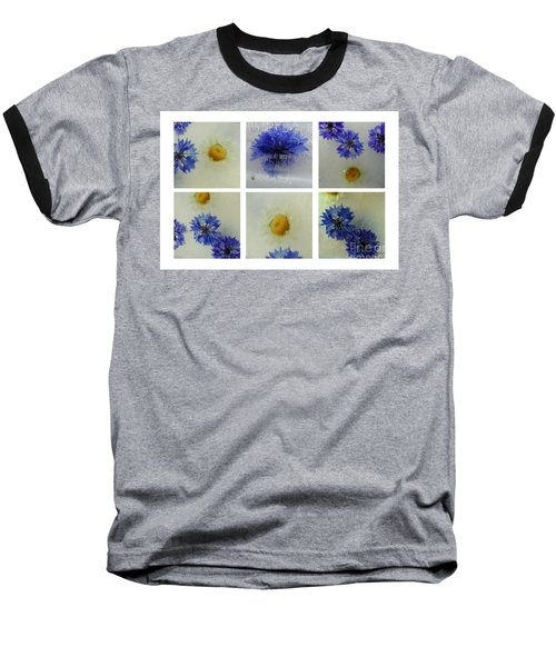 Frozen Blue Baseball T-Shirt