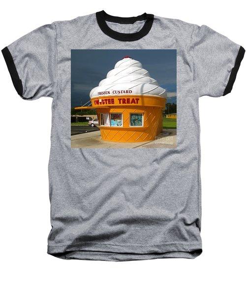 Frozen Custard Before The Storm Building Baseball T-Shirt