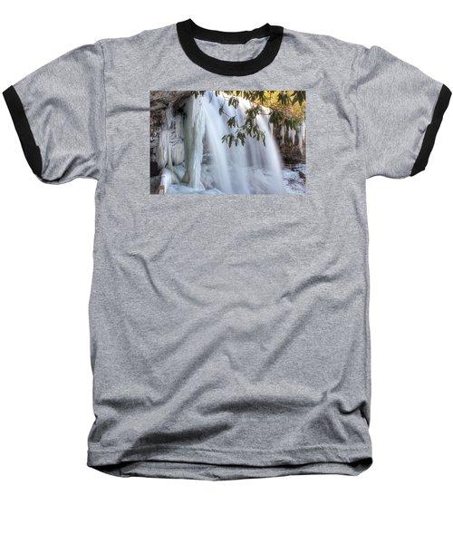 Frozen Dry Falls Baseball T-Shirt