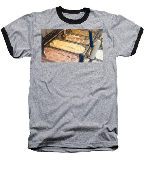 Frozen Gelato On Display Baseball T-Shirt