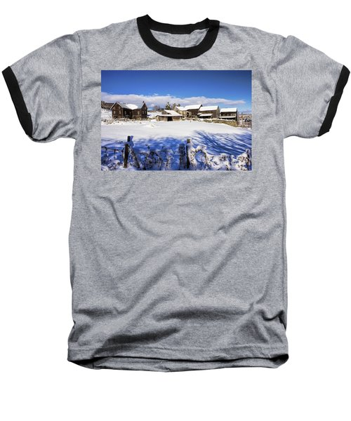 Frozen In Time One  Baseball T-Shirt