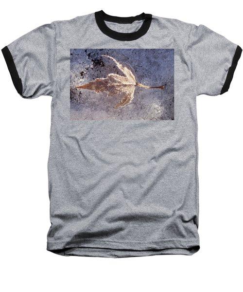 Frozen Leaf Baseball T-Shirt