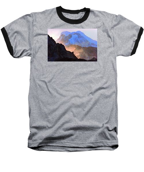 Frozen - Torres Del Paine National Park Baseball T-Shirt