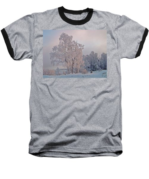 Baseball T-Shirt featuring the photograph Frozen Moment by Jeremy Rhoades