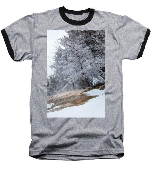 Frozen Tree Baseball T-Shirt