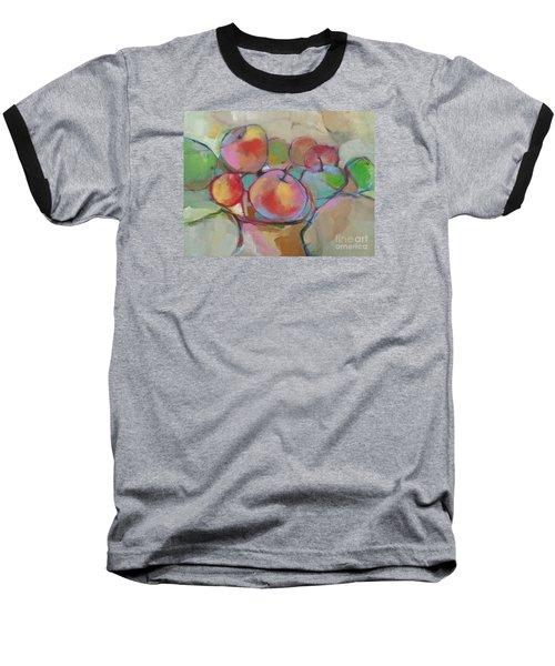 Fruit Bowl #5 Baseball T-Shirt by Michelle Abrams