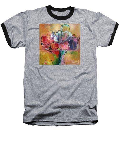 Fruit Bowl No.1 Baseball T-Shirt by Michelle Abrams