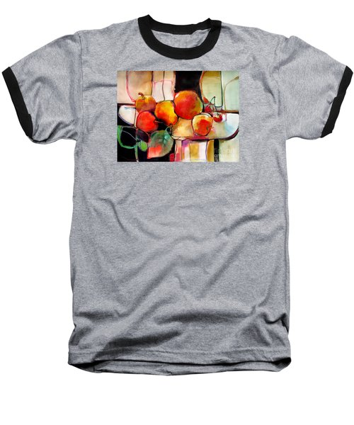 Fruit On A Dish Baseball T-Shirt by Michelle Abrams