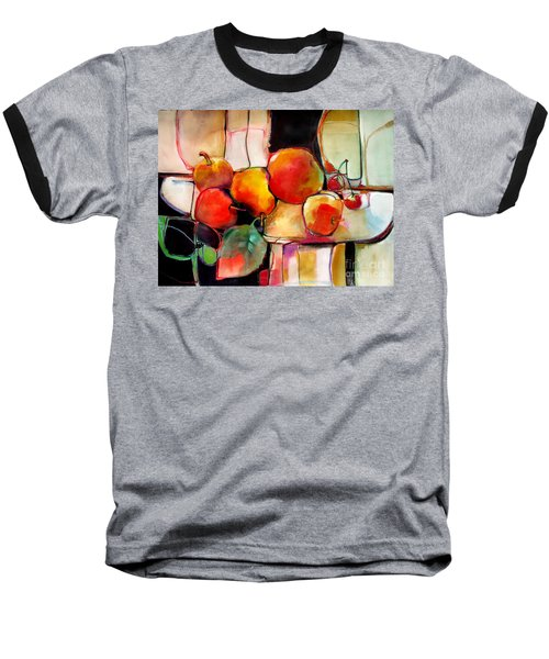 Fruit On A Dish Baseball T-Shirt