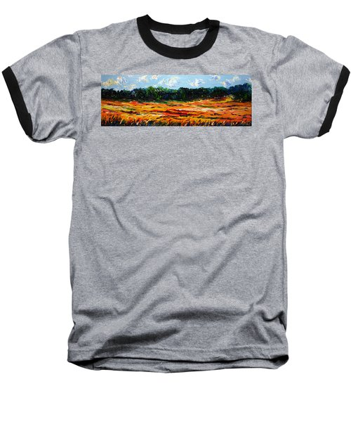 Baseball T-Shirt featuring the painting Fruition by Meaghan Troup