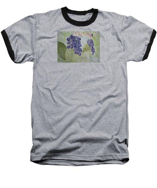 Fruits Of The Wine Baseball T-Shirt by Elvira Ingram
