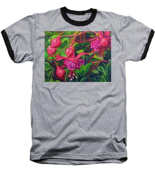 Fuchsia Fantastic Baseball T-Shirt