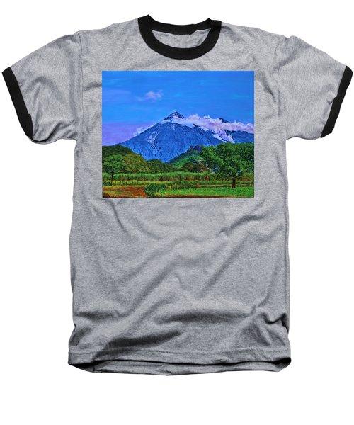 Fuego Volcano Guatamala Baseball T-Shirt