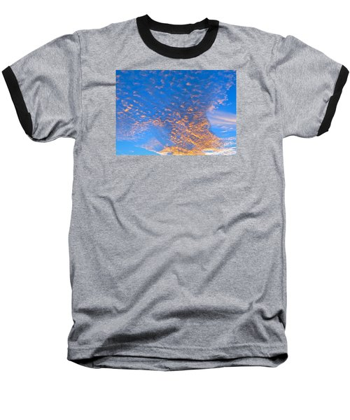 Baseball T-Shirt featuring the photograph Fulgent Funneling by Joy Hardee