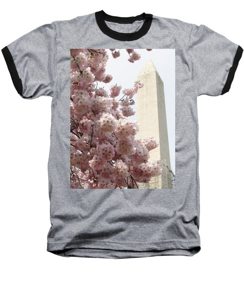 Full Bloom In Dc Baseball T-Shirt