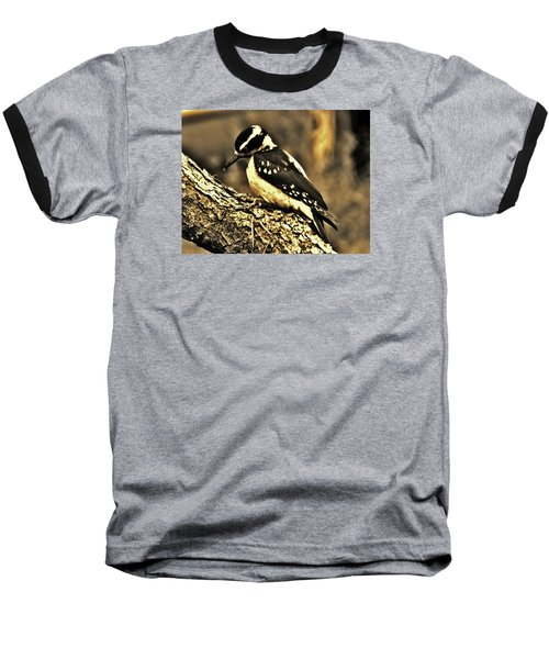 Baseball T-Shirt featuring the photograph Full-color Not Needed by VLee Watson