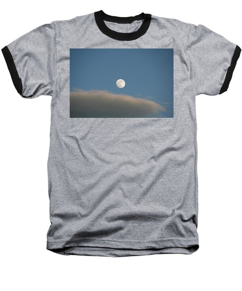 Baseball T-Shirt featuring the photograph Full Moon by David S Reynolds
