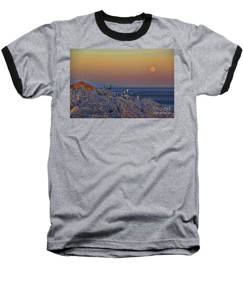 Full Moon Gathering Of Capricorn Baseball T-Shirt