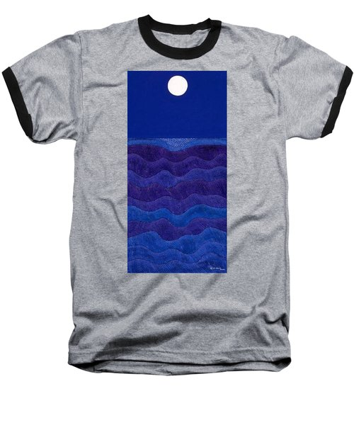 Full Moonscape II Baseball T-Shirt