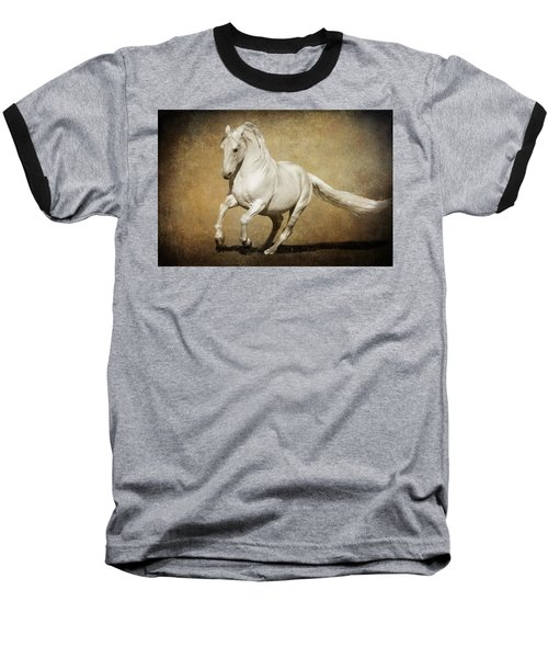 Full Steam Ahead Baseball T-Shirt by Wes and Dotty Weber