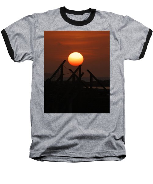 Baseball T-Shirt featuring the photograph Full Sun by Leticia Latocki