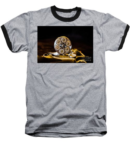 Baseball T-Shirt featuring the photograph Fully Loaded by Deniece Platt