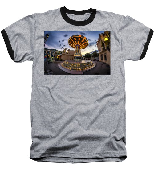 Fun Fair In The Night Baseball T-Shirt