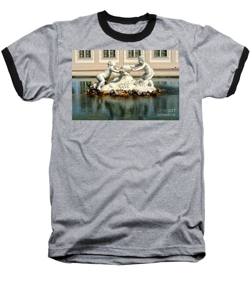 Baseball T-Shirt featuring the photograph Fun On The Water by Mariola Bitner