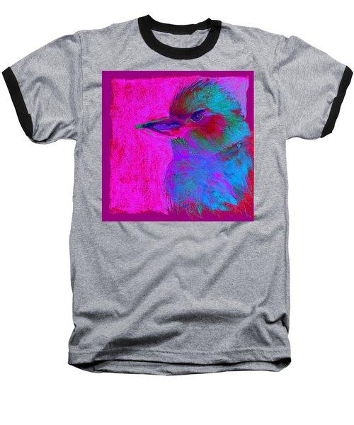 Funky Kookaburra Australian Bird Art Prints Baseball T-Shirt