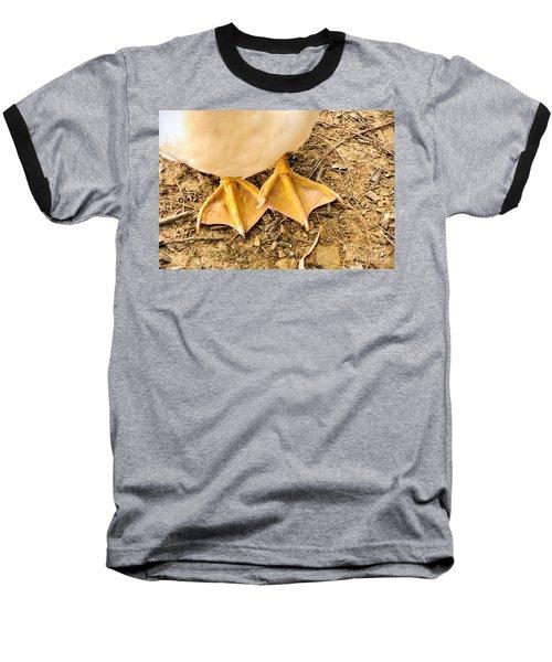 Funny Feet Baseball T-Shirt