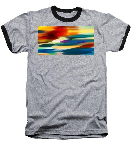 Fury Seascape Baseball T-Shirt