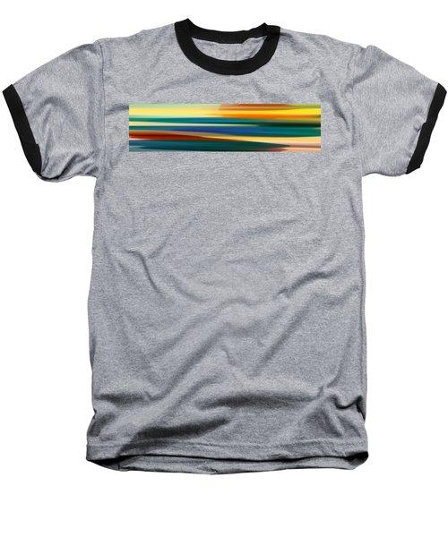 Fury Seascape Panoramic 1 Baseball T-Shirt