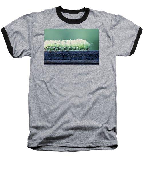 Fuzzy Caterpillar Baseball T-Shirt