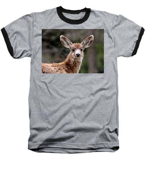 Fuzzy Fawn Baseball T-Shirt