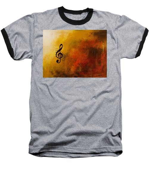 G Symphony Baseball T-Shirt by Carmen Guedez