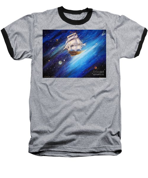 Galactic Traveler Baseball T-Shirt