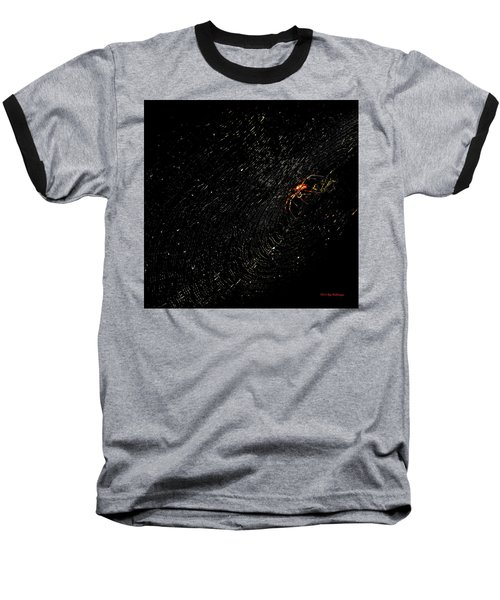 Galaxy Web Baseball T-Shirt
