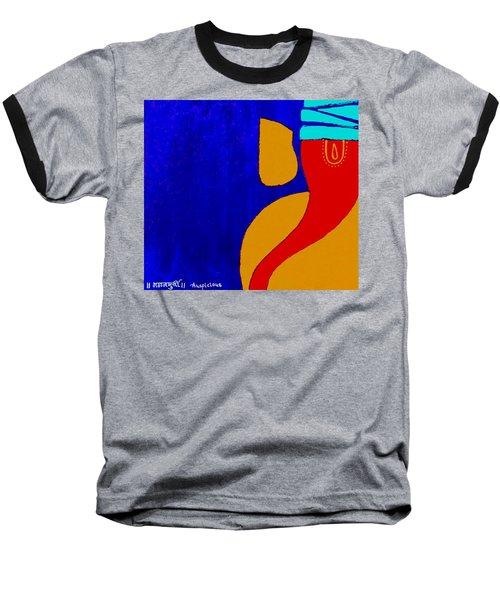 4 Ganesh Mangalmurti Baseball T-Shirt