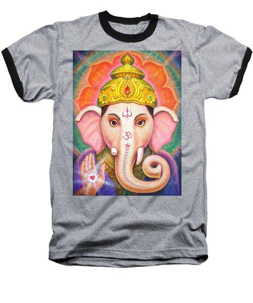 Ganesha's Blessing Baseball T-Shirt