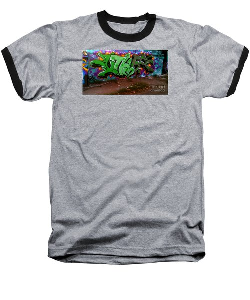 Garage Art Baseball T-Shirt