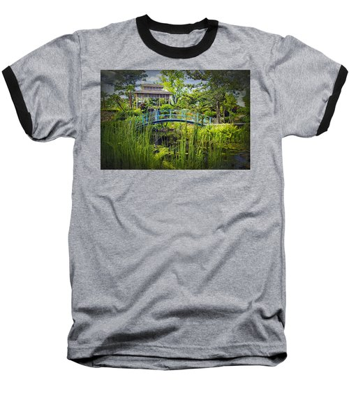 Garden At Houmas House Plantation La Dsc04584 Baseball T-Shirt by Greg Kluempers