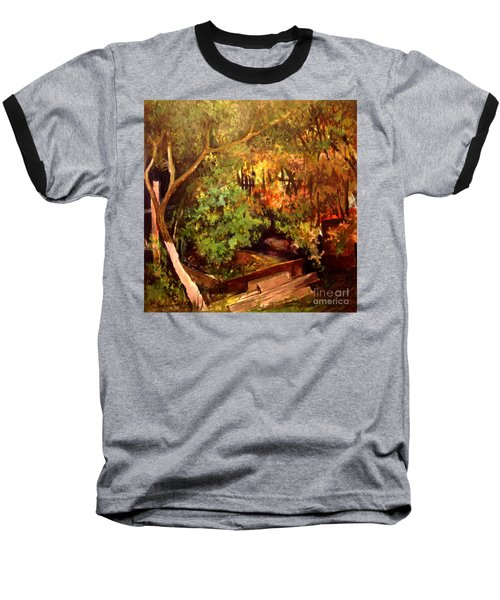 Garden Backyard Corner Baseball T-Shirt